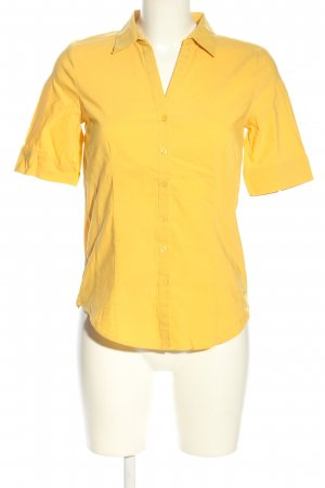 More & More Hemd-Bluse blassgelb Business-Look