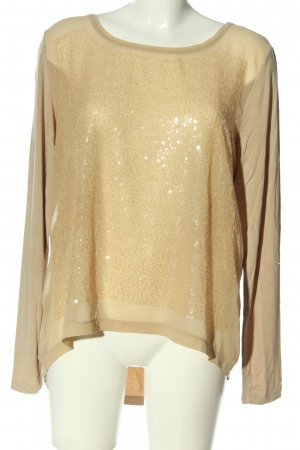 More & More Hemd-Bluse creme-goldfarben Casual-Look