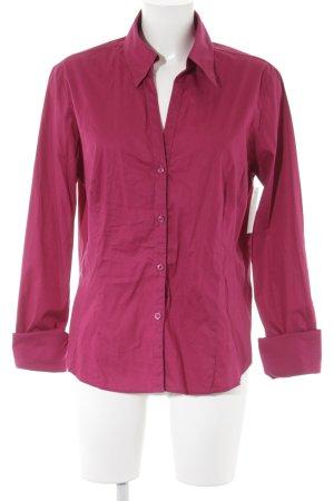 More & More Hemd-Bluse pink schlichter Stil