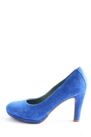 More & More High Heels blau Casual-Look