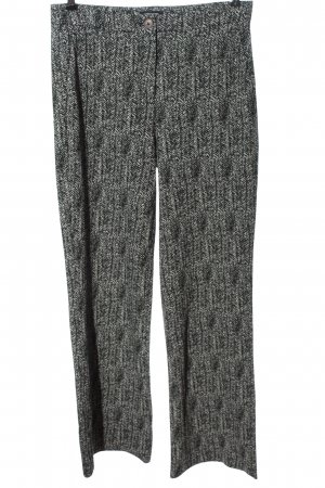 More & More High Waist Trousers white-black allover print casual look