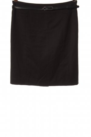 More & More Falda de talle alto negro look casual