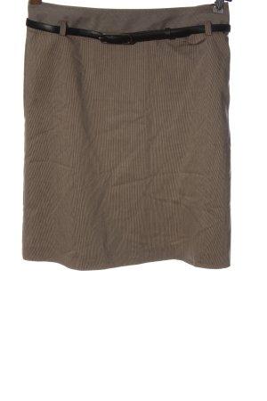 More & More Falda de talle alto marrón elegante
