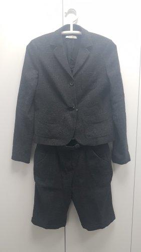 More & More Tailleur-pantalon gris foncé