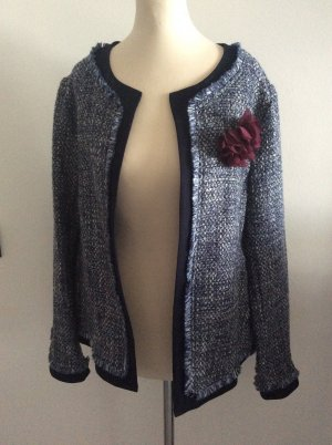 More & More Jacke jeansfarben Gr 42 elegant