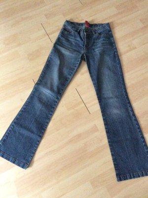More & More Jeansy z prostymi nogawkami stalowy niebieski