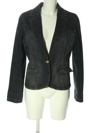 More & More Blazer en jean bleu style décontracté