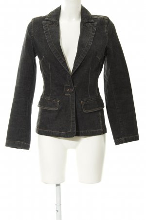 More & More Jeansjacke anthrazit Casual-Look