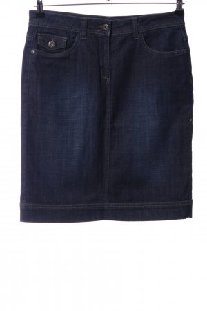 More & More Jeansrock blau Casual-Look