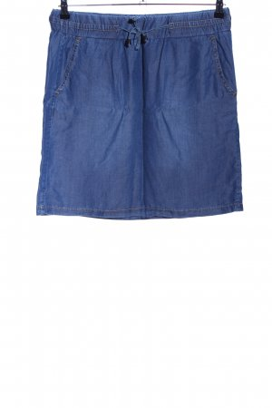 More & More Jeansrock blau Casual-Look