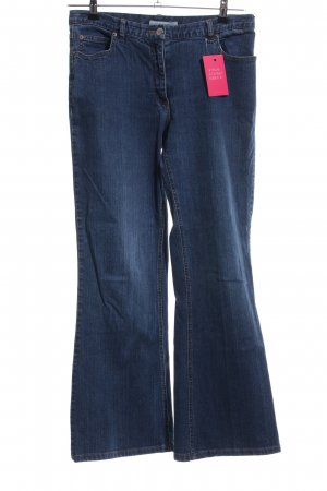 More & More Jeansschlaghose blau Casual-Look