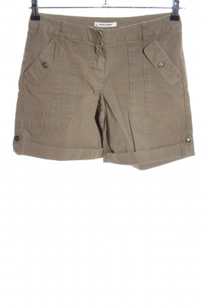 More & More Jeansshorts braun Casual-Look
