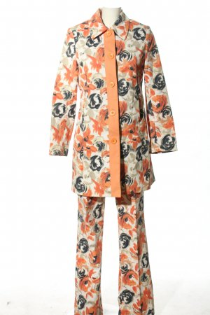 More & More Jersey Twin Set Blumenmuster Casual-Look