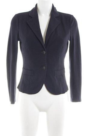 More & More Jerseyblazer blau Business-Look