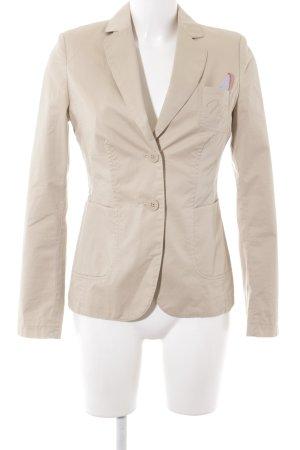 More & More Jerseyblazer beige Business-Look