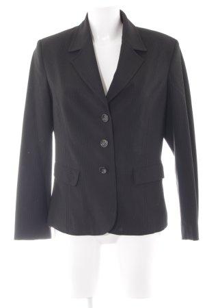 More & More Jerseyblazer schwarz Business-Look