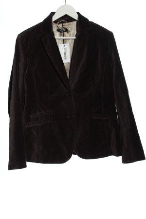 More & More Klassischer Blazer bruin wetlook