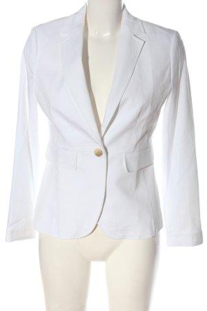 More & More Klassischer Blazer bianco stile casual
