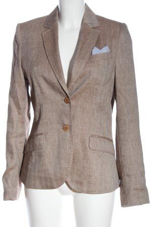 More & More Klassischer Blazer marrón estilo «business»