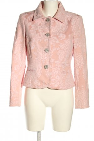 More & More Klassischer Blazer rosa-blanco puro look casual