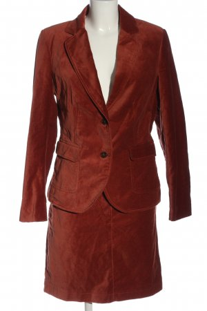 More & More Tailleur rosso stile casual