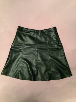 More & More Faux Leather Skirt black