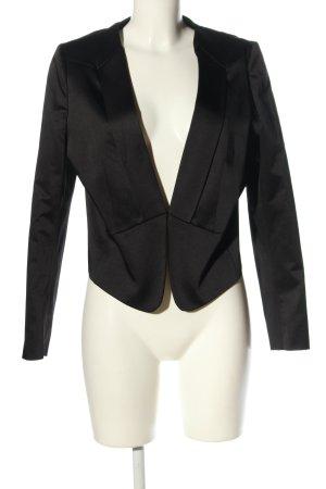 More & More Korte blazer zwart zakelijke stijl