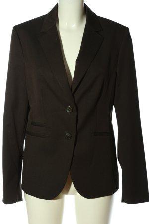 More & More Korte blazer bruin zakelijke stijl