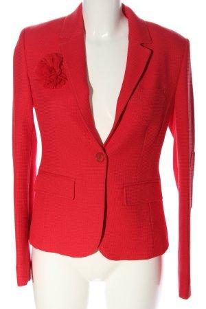More & More Kurz-Blazer rot Business-Look