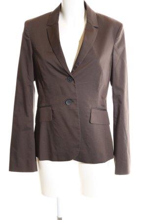More & More Kurz-Blazer braun Business-Look