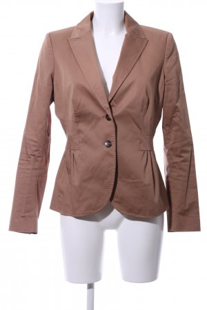 More & More Kurz-Blazer braun Business-Look