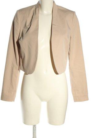 More & More Korte blazer nude zakelijke stijl