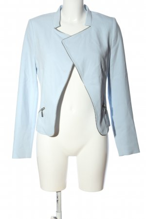 More & More Kurz-Blazer blau Casual-Look