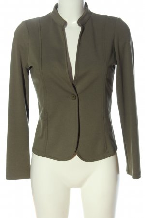 More & More Korte blazer khaki zakelijke stijl