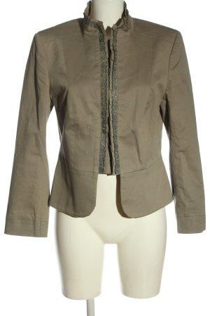 More & More Korte blazer bruin casual uitstraling