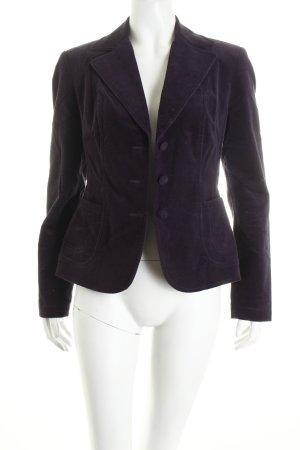 More & More Kurz-Blazer braunviolett Casual-Look