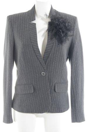 More & More Kurz-Blazer dunkelgrau-silberfarben Elegant