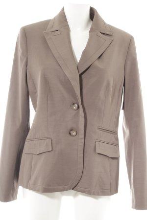 More & More Korte blazer grijs-bruin zakelijke stijl