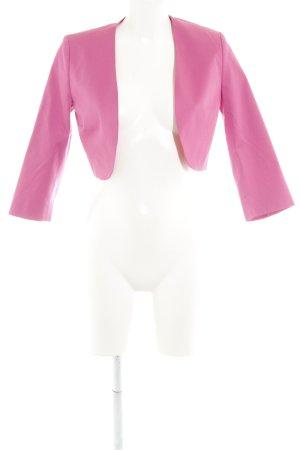 More & More Kurz-Blazer magenta Business-Look