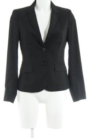 More & More Korte blazer zwart-antraciet zakelijke stijl