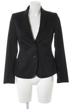 More & More Kurz-Blazer schwarz Business-Look
