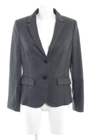 More & More Korte blazer zwart-grijs zakelijke stijl