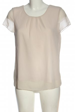 More & More Kurzarm-Bluse creme Casual-Look