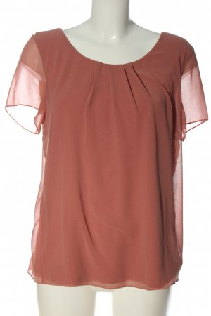 More & More Kurzarm-Bluse pink Business-Look