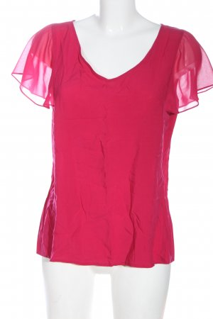 More & More Kurzarm-Bluse pink Casual-Look