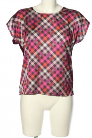 More & More Kurzarm-Bluse Streifenmuster Casual-Look