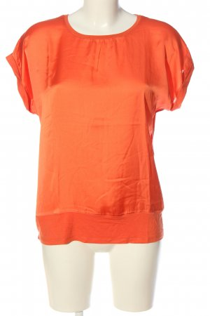 More & More Kurzarm-Bluse hellorange Casual-Look
