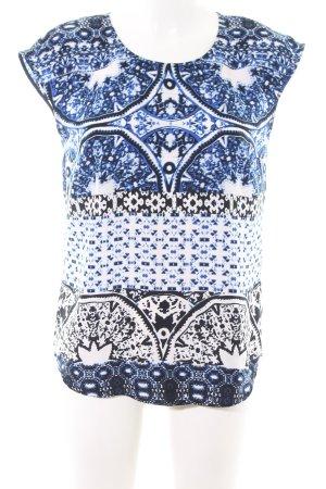 More & More Bluzka z krótkim rękawem Abstrakcyjny wzór W stylu casual