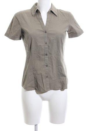 More & More Kurzarm-Bluse khaki Casual-Look
