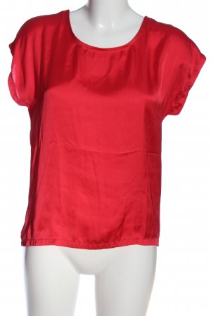 More & More Kurzarm-Bluse rot Casual-Look
